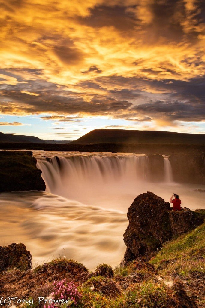 Godafoss tourist