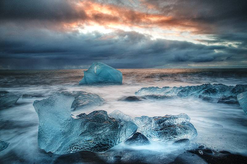 Ice beach Jokulsarlon
