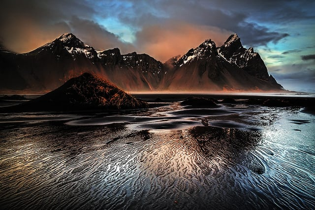 Vestrahorn brown