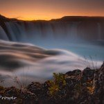 Goðafoss waterfall – 175 second exposure